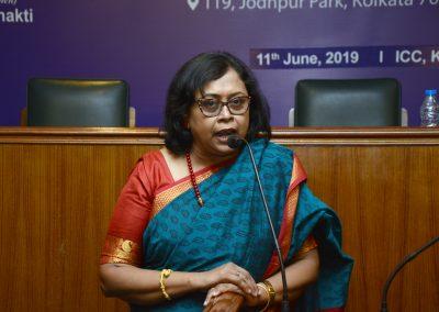 Soma Dasgupta delivering vote of thanks