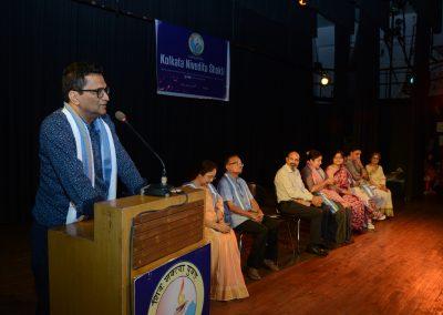 Gautam De, Director ICCR Kolkata Delivering his speech