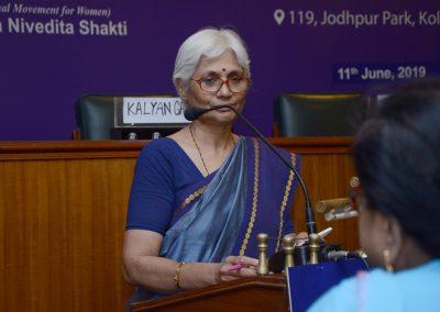 Vidya Pai Delivering her speech