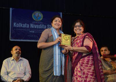 Felicitation of Locket Chatterjee, MP